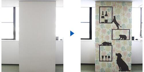 お好きなデザインで作れる「オリジナル壁紙印刷」を発売