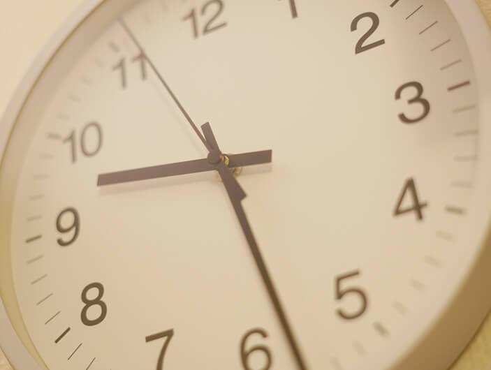 残業時間削減の徹底