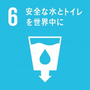 目標 6(安全な水とトイレを世界中に)