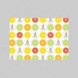 果物柄の包装紙