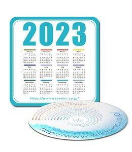マウスパッドカレンダー