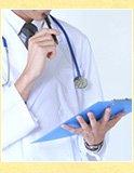 産業医が原材料の安全性を厳しくチェックしています