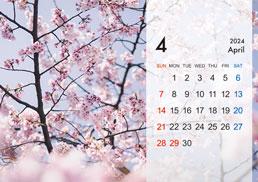 B6サイズ卓上カレンダー(Bタイプ)