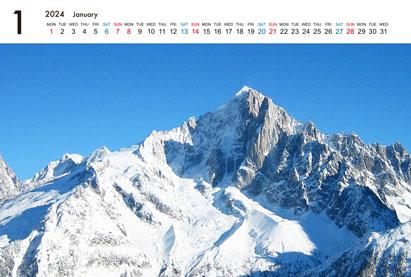 ポストカードサイズ卓上カレンダー(Aタイプ)