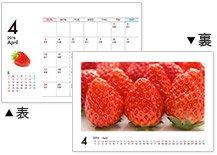 卓上ECOリング綴じカレンダー(13枚セット)
