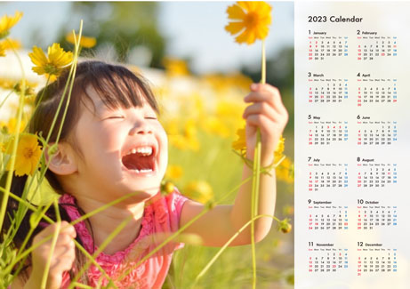 ポスターカレンダー(横)