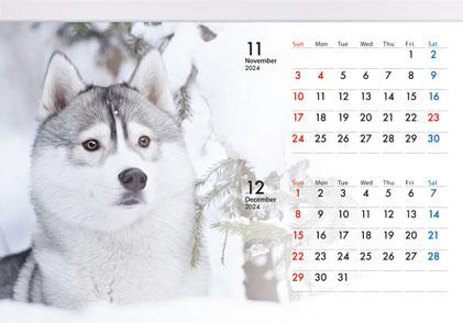 壁掛けカレンダー(7ページ)