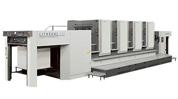 高性能オフセット印刷機