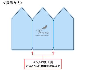 複数の折り目(スジ入れ)を設定される場合