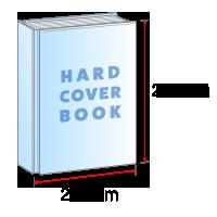 A4サイズ仕上がりの上製本