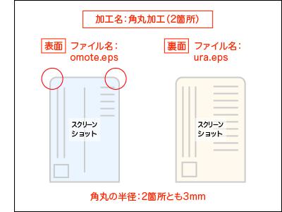 角丸加工の指示書