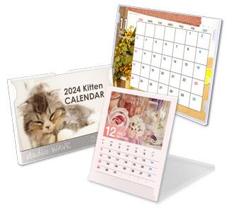 卓上ギャラリーカレンダー印刷(オフセット印刷)