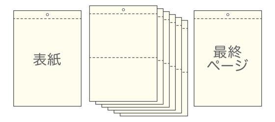 8ページ:表紙/裏表紙+本文(6P)