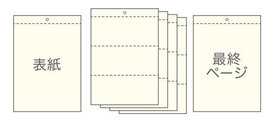 6ページ:表紙/裏表紙+本文(4P)