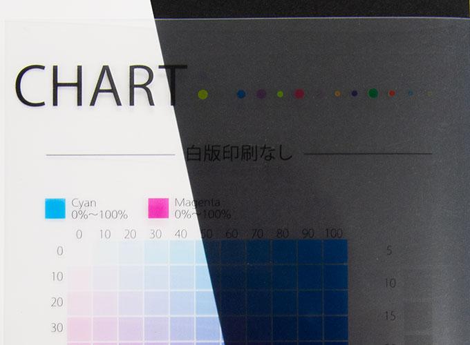 フルカラー印刷(4色)+白