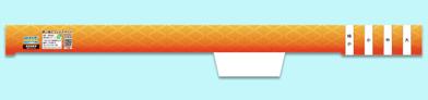 W5 オレンジ菱紋