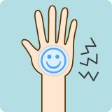 肌に貼付後、身体に異常を感じた時には直ちに使用を止め、必要に応じて医師の診断を受けてください。