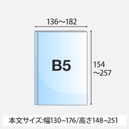 B5サイズ(定型/変型)
