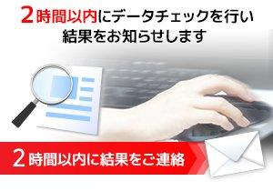 データチェック優先サービス
