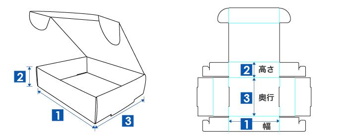 N式の幅・奥行・高さ