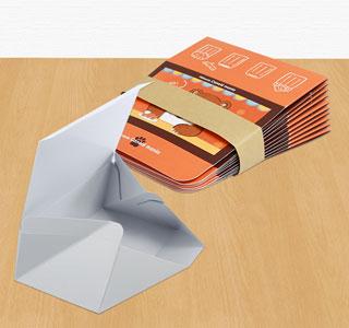 折り畳んだ状態で納品。組み立ても簡単!