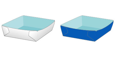 中面に印刷外面(表面)と中面に印刷