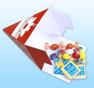 ピラミッド型POPはパッケージとしても使えます