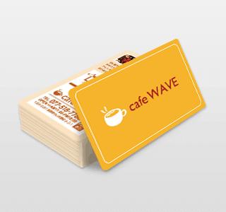 オンデマンド印刷のメンバーズカード