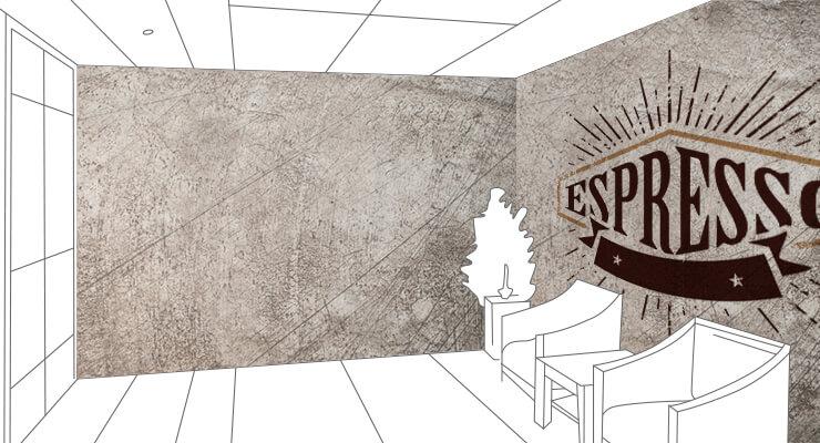 カフェの壁紙