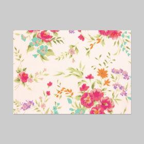 包装紙印刷:花柄