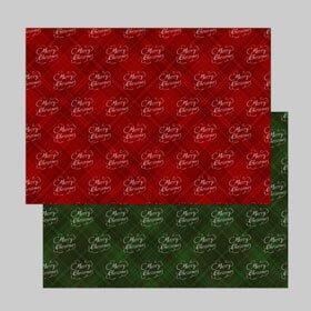 包装紙印刷:花パターン