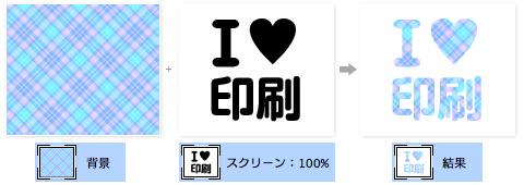 お気に入りの柄が入ったロゴや文字を作成する方法