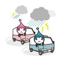天候不良や交通事情の乱れによる遅れ