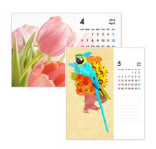 卓上ECOリング綴じカレンダー(名入れ)