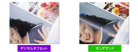 デジタルオフセットとオンデマンドの比較