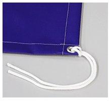 ハトメ・固定ロープ
