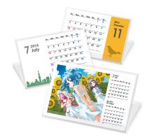 タントN-8のカレンダー印刷