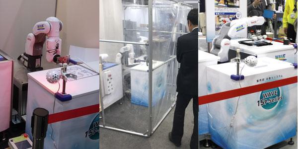 WAVE 15P-Series「箔押し加工機自動化システム」「レーザー加工機自動化システム」のご紹介